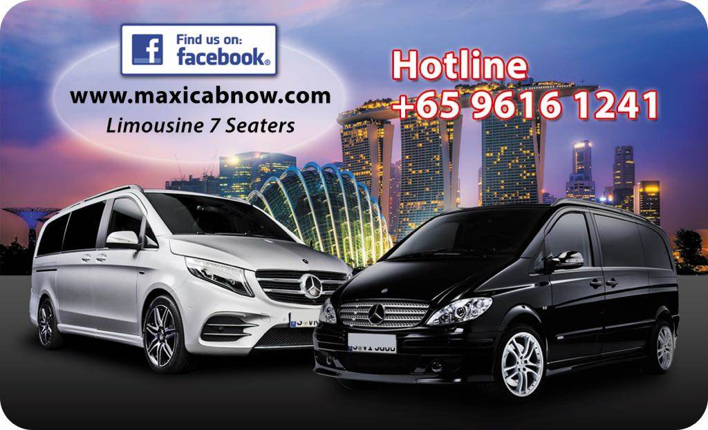 maxi cab to airport Singapore