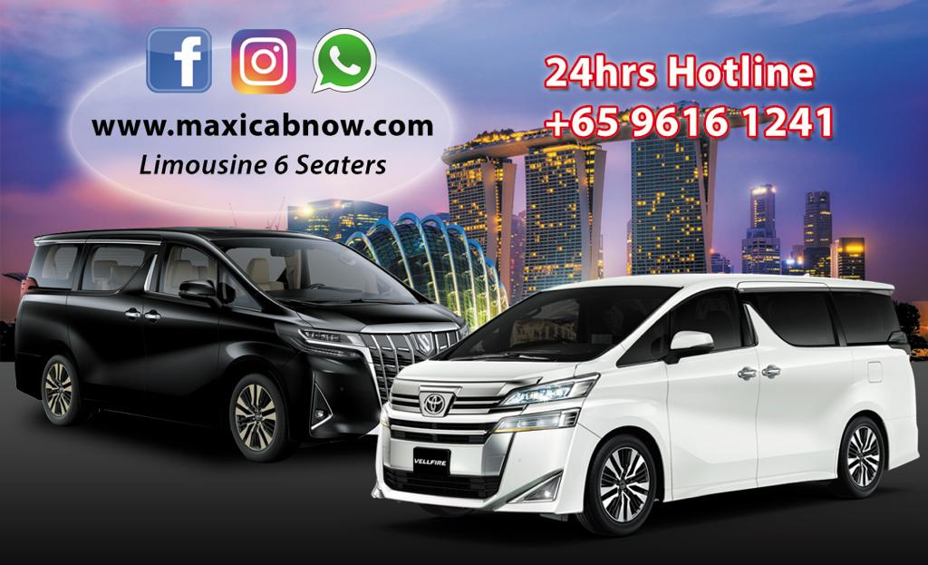 comfort private transport / taxi Singapore